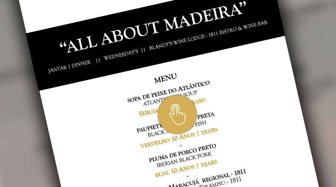 all about madeira dinner