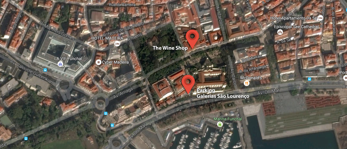 wine shop map